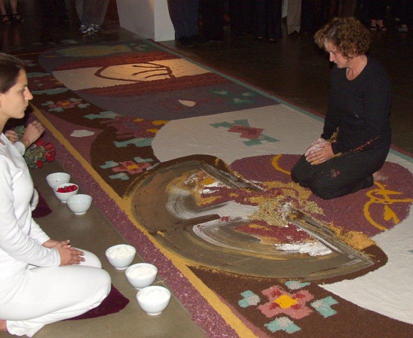 São peixes pescados - Mariana Stelini e Adriana da Conceição, Centro de Convivência, Campinas, 2001 (1).