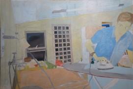 01 - Processos da pintura Água que fura - Tangerina Bruno