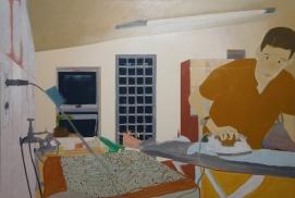 22 - Processos da pintura Água que fura - Tangerina Bruno