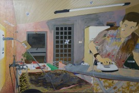 35 - Processos da pintura Água que fura - Tangerina Bruno